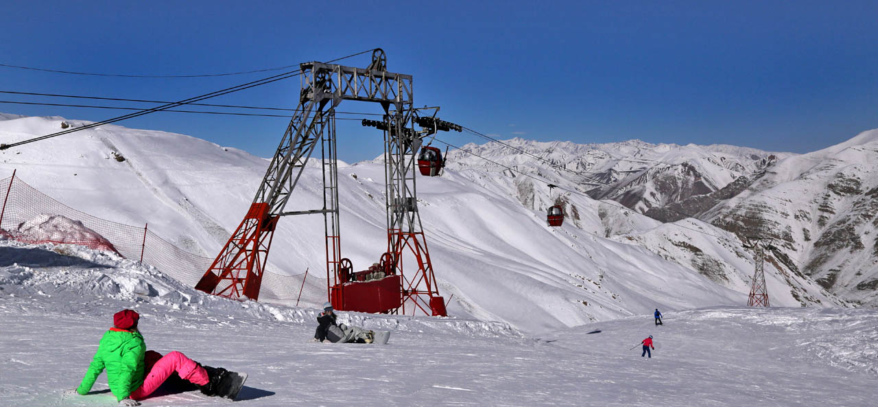 Iran Dizin Ski Resort Tour